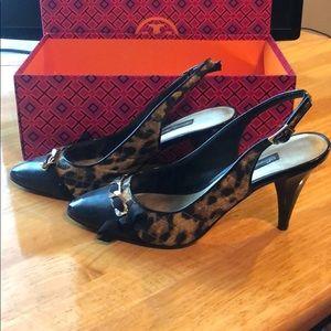 Beverly Feldman sling heels